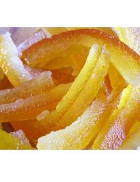 orangette confite au sucre confiserie fruits défendus
