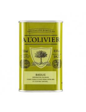 huile d olive basilic
