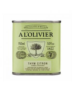 huile d'olive thym citron