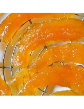 Les tranches de melon confit